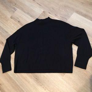 Everlane Crop Mock Cashmere Sweater